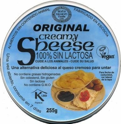 Queso vegetal Creamy Original - Producto