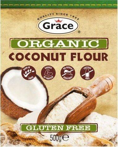 Organic Coconut Flour - Produit - fr