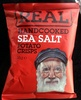 Handcooked Sea Salt potato crisps - Produit