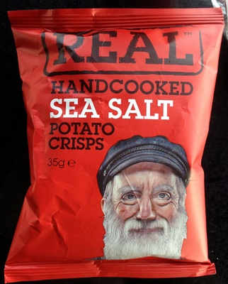 Handcooked Sea Salt potato crisps - Produit