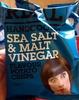 Handcookes sea salt & malt vinegar flavour potato crisps - Product