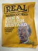 Handcooked Ham & English Mustard Flavour Potato Crisps - Produit