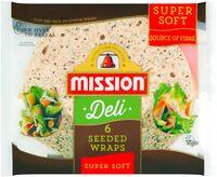 Mission Deli Super Soft Seeded Wraps - Prodotto - en
