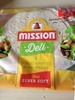 Mission Deli Wheat And White Mini Wraps 6 Pack - Product