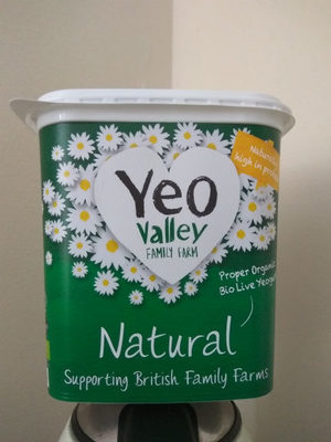 Yeo Valley Natural Yogurt 1Kg - Producto