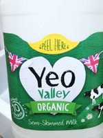 yeo valley milk - Product - fr