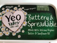 buttery and spreadable - Produit - fr