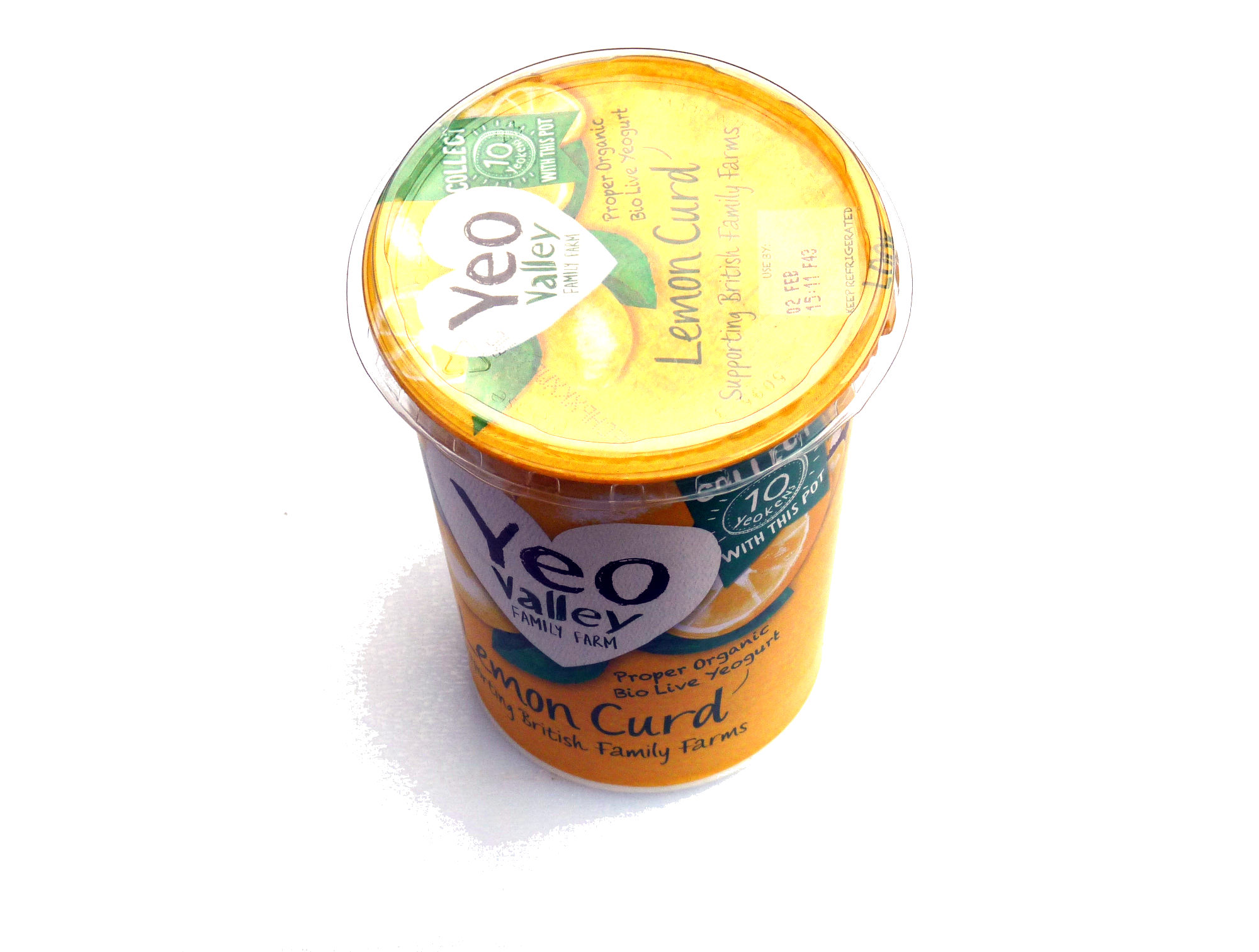 Yeo Valley Lemon Curd Yoghurt - Product - en