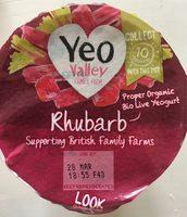 Rhubarb yeogurt - Produit - fr