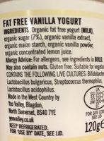 Vanilla - Ingredients - en