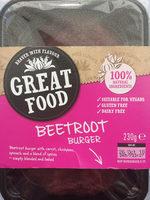 Beetroot Burger - Produit - en