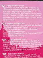 London breakfast - Ingredients - fr