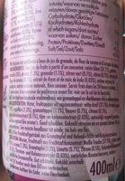 Firefly pomegranate elderflower - Ingredients