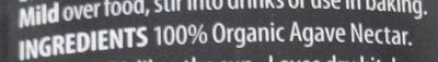 Premium Agave Nectar - Inhaltsstoffe - fr