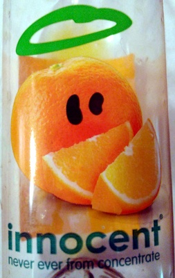 innocent orange juice with bits - Produit