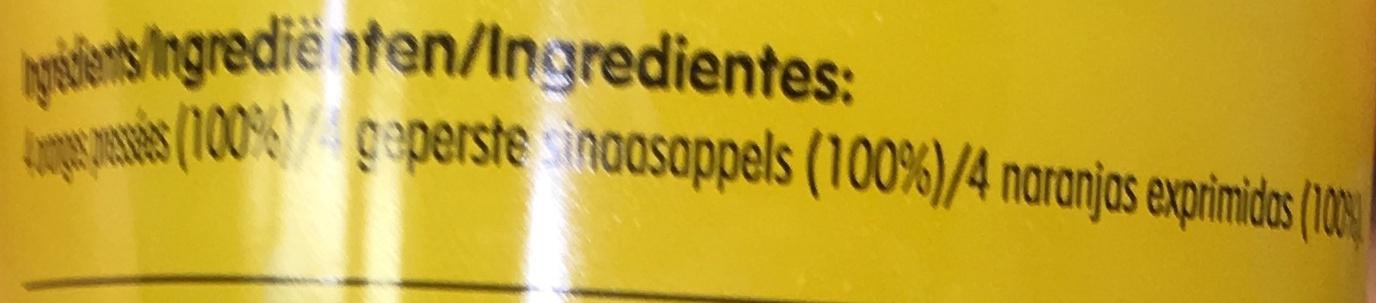 Orange with bits - Ingredients - fr
