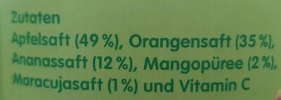 Multi Mix gelb - Ingrediënten - de