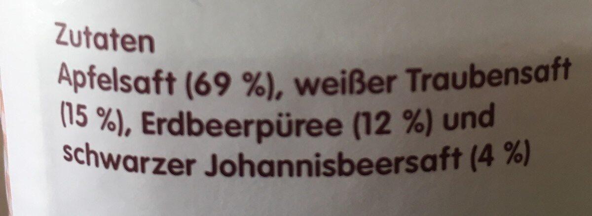 Apple & berry juice never from concentrate - Ingrediënten - en
