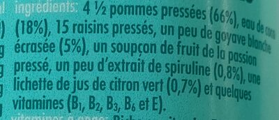 Innocent FA-BU-BLEU - Ingrédients - fr