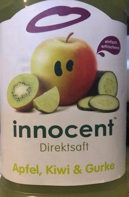 Jus pomme, kiwi, concombre - Produit - fr