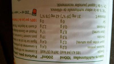 pur jus de 3 fruits pressés orange, pamplemousse rose & orange sanguine - 2
