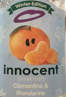 Innocent, Clementine & Mandarine - Prodotto - de