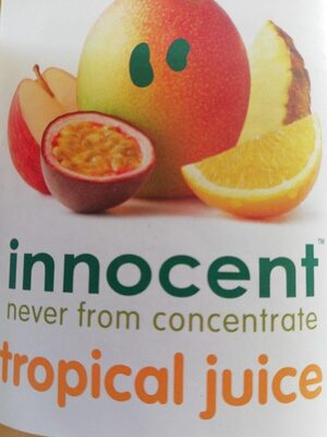 Innocent tropical juice - Product - fr