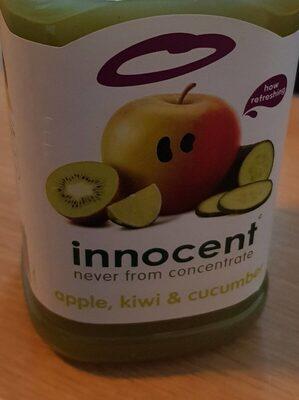 Jus de pomme kiwi concombre - Product