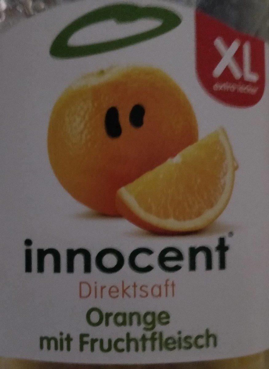 Direktsaft Orange mit Fruchtfleisch - Produit