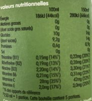Super Vert - Nutrition facts
