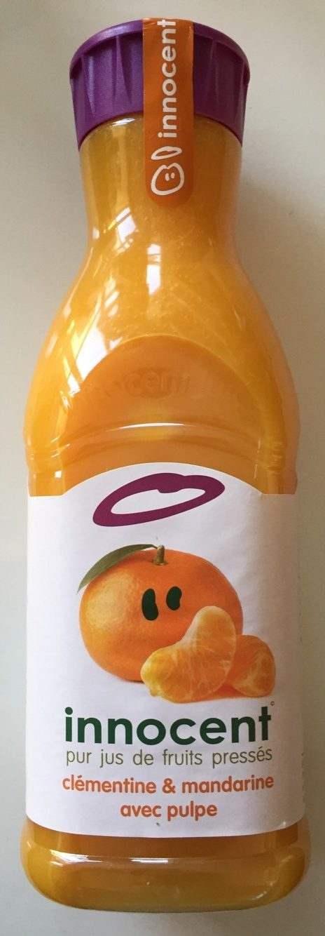 Jus clémentine & mandarine - Product