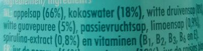 Blue spark - Ingrediënten - nl