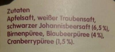 Innocent juice Direktsaft - Zutaten - de