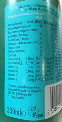 Blue spark - Informations nutritionnelles - fr