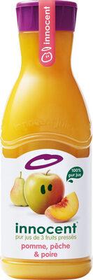 Innocent jus pomme, pêche & poire 900ml - Prodotto - fr