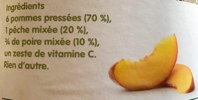 Jus de trois fruits pressés - Ingrédients - fr