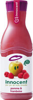 Innocent jus pomme & framboise 900ml - Product - fr