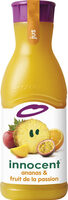 Innocent jus ananas & fruit de la passion 900ml - Product - fr