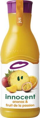 Innocent jus ananas & fruit de la passion 900ml - Prodotto - fr