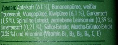 Antioxidant - Ingredienti - de