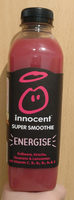"Innocent super smoothie ""Energise"" - Product"