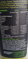 Super Smoothie Antioxidant - Informations nutritionnelles - fr
