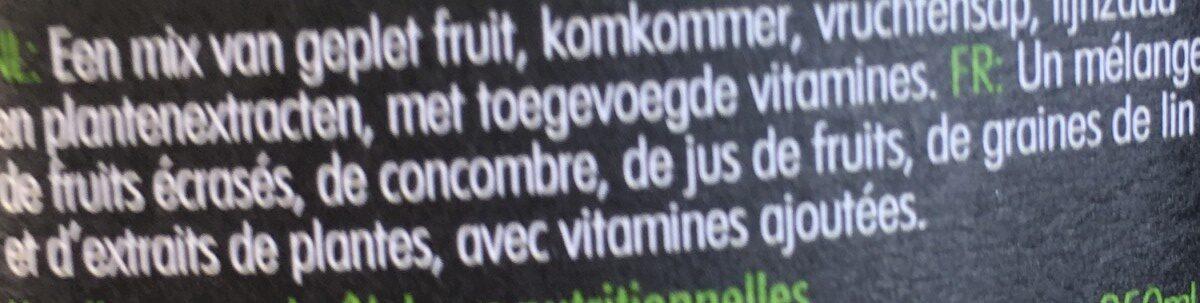 Super Smoothie Antioxydant - Ingrediënten - fr