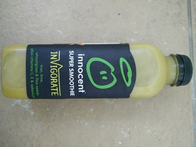 Antioxidant super smoothie kiwi, lime & wheatgrass - Product