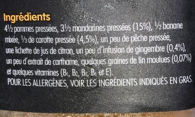 Super smoothie re[charge] - Ingredients - fr