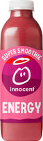 Innocent super smoothie energy 750ml - Product - fr