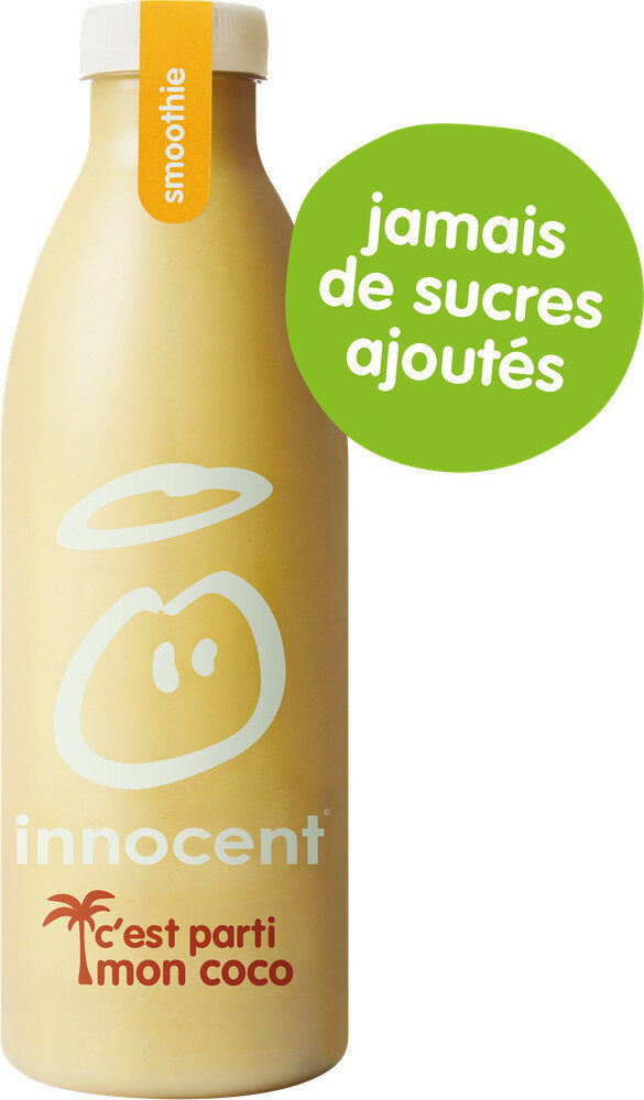 Innocent smoothie ananas, banane & coco 750ml - Prodotto - fr