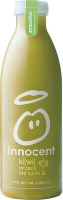 innocent smoothie kiwi pomme & ananas 750ml - Prodotto - fr
