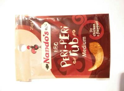 Peri-Peri Rub Powder BBQ flavour - Product