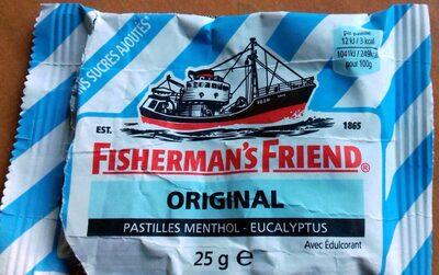 Fisherman's Friend Pastilles Eucalyptus Menthol Sans Sucres () - Product - fr